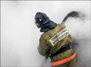Спасатели вывели из огня жительницу брянской пятиэтажки
