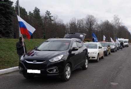 Брянцы провели автопробег «Мы —  за безопасность дорожного движения»