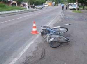В брянском посёлке велосипедист попал под «ГАЗель»