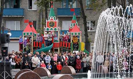 Новозыбков отпраздновал 312 лет с фонтаном и начал 313 год без него