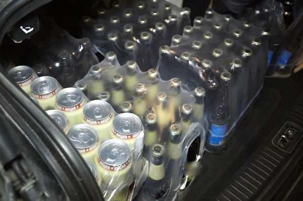 В брянском ларьке полиция изъяла более тысячи литров алкоголя