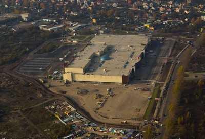 В Брянске на 14 гектарах открылся крупнейший ТРЦ «Аэро Парк»