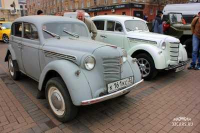 Брянску представили раритетные и спортивные автомобили