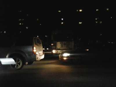 На шоссе Брянск — Смоленск столкнулись легковушки и грузовик