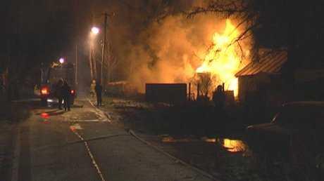 В Брянской области сгорели два дома