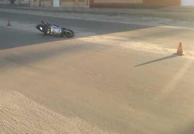 В Сельцо скутерист покалечил пешехода
