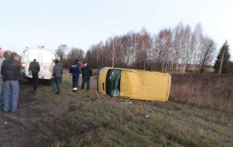 В аварии с участием брянского таможенника погибла женщина