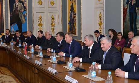 Брянская делегация встретилась с президентом Белоруссии