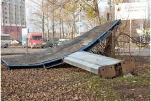 На Брянщине введён режим повышенной готовности к погодным катаклизмам