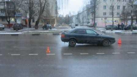 В Брянске при столкновении «Газели» и «Ауди» пострадали два человека