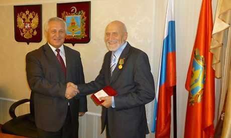 Брянцы наградили Николая Дроздова за экологическое просвещение