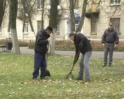 Брянские неплательщики штрафов будут отрабатывать долг, убирая улицы