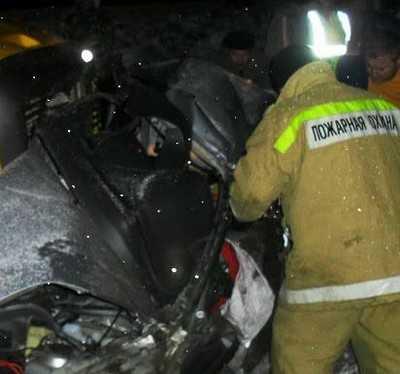 В Брянской области на трассе Москва – Киев погибли три человека