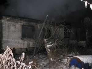В Сельцо при пожаре погибли пенсионеры — мать и сын