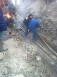 Теплотрасса в Бежицком районе Брянска восстановлена