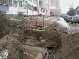 Прорыв теплотрассы оставил без тепла более тысячи брянцев
