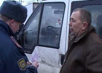 В Брянске начался отлов пьяных водителей