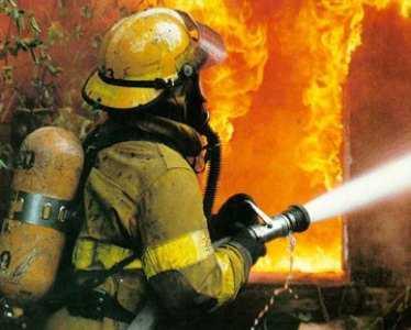 Брянские спасатели вынесли бабушку из огня