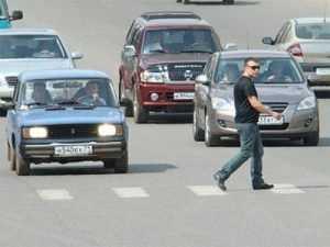 В Брянске легковушки сбили на «зебрах» двоих пешеходов