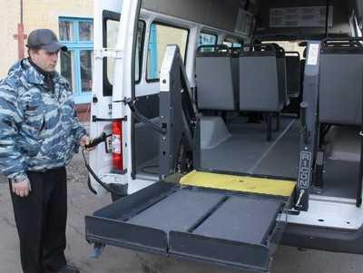 На такси для инвалидов брянские власти дали 1,5 миллиона