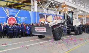 «Брянский арсенал» начал выпускать американизированные автогрейдры