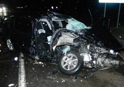 В Жуковском районе при столкновении с фурой погиб водитель