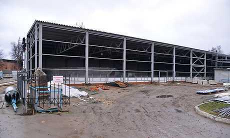 Восстановление рухнувшего брянского стадиона «Десна» стало долгостроем