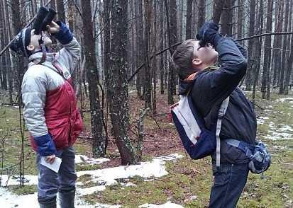 В брянском заповеднике насчитали 34 вида зимующих птиц