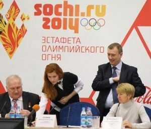 Брянск подготовил для приема олимпийского огня 156-метровый рушник