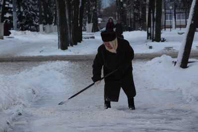 Брянскую область укроет мокрый снег