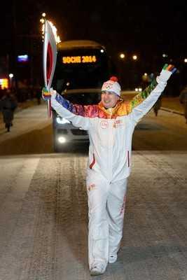 Один из этапов олимпийской  эстафеты пробежал глава «Брянскэнерго»