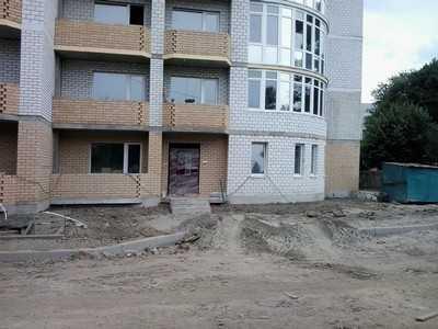 Дорогу на Трудовой в Брянске размыло после стройки «Надежды»