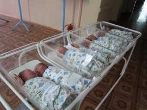 Всего пять детей родились в брянском роддоме в новогоднюю ночь
