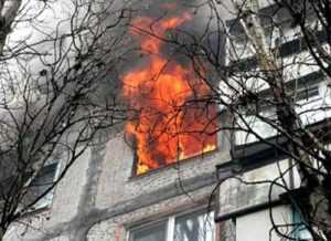Житель Брянска погиб в огне из-за замыкания электропроводки