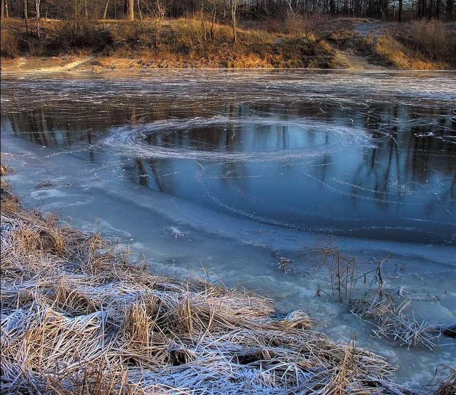 В брянском селе провалился под лед и утонул трехлетний мальчик