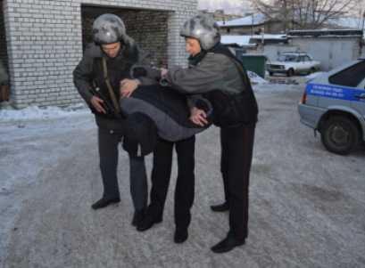 Брянские полицейские поймали уличных грабителей