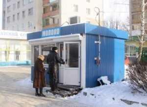 Семь ларьков в Брянске работали без разрешения на торговлю