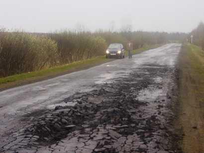 Каждое четвёртое ДТП в Брянской области происходит из-за плохих дорог