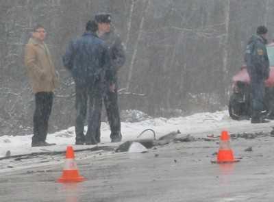 В ДТП под Брянском один человек погиб, семеро ранены