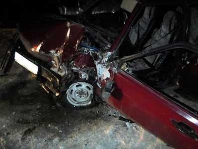 В Суземке пьяный водитель на легковушке врезался в «КАМАЗ»