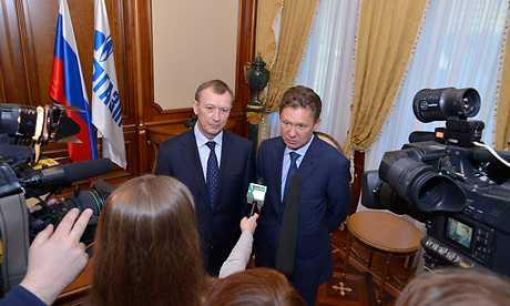 «Газпром» пообещал Брянску дюжину спортивных объектов