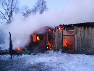 Пожар в новозыбковском селе унёс жизни троих человек