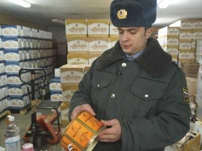 Брянская полиция ликвидировала подпольное производство алкоголя