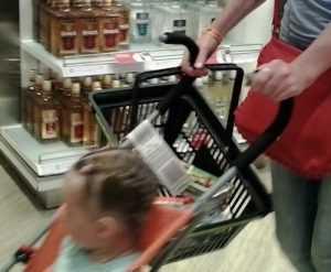 В новогоднюю ночь пьяная брянская мамаша потеряла малыша