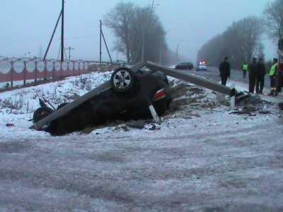 На дороге Брянск – Орел автомобилистка отправила в аут внедорожник