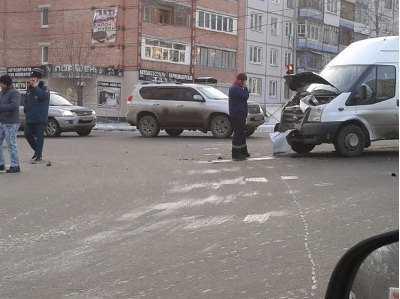 В ДТП с маршруткой на Авиационной в Брянске пострадали четверо