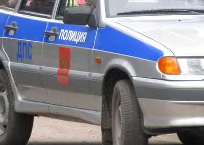 В Брянске в ДТП попал автомобиль ДПС