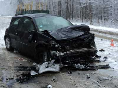 "В ДТП на брянском участке шоссе ""Украина"" погибли два таджика"