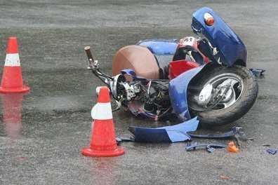 В Погарском районе разбились пьяный скутерист и его пассажир