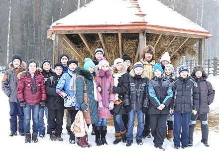 Суземские школьники навестили зубров в брянском заповеднике
